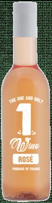 1WINE Rose 187 ml. 24 flesjes