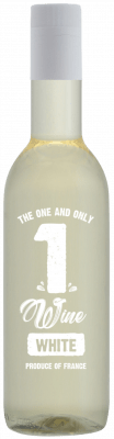 1WINE White 187 ml. 24 flesjes