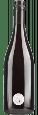 Fles Merlot wijn uit Frankrijk zonder etiket