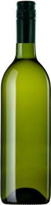 Fles Witte wijn uit Zuid-Afrika zonder etiket