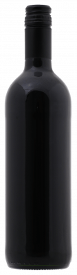 Fles Spaanse rode wijn zonder etiket