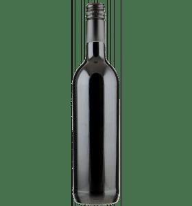 Fles Rode wijn uit Zuid-Afrika zonder etiket