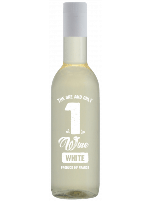 1WINE White 187 ml. 24 flesjes
