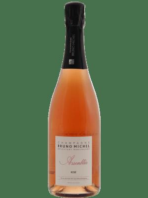 Bruno Michel Champagne Assemblée Rose