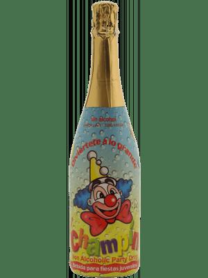 Champin Kinderchampagne Aardbei (Alcoholvrij)