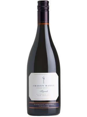 Craggy Range Syrah Gimblett Gravels Vineyard