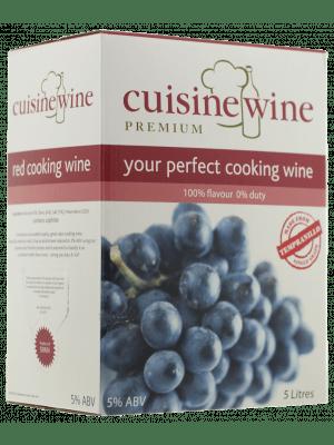 Cuisine Wine Red - Kookwijn rood
