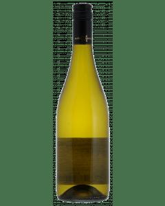 fles witte wijn zonder etiket
