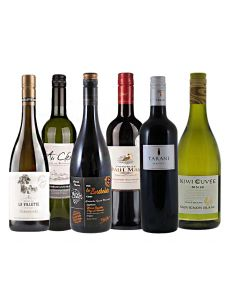 Wijnpakket Frankrijk (6 flessen)