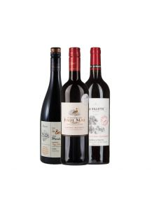 Wijnpakket Frankrijk Rood (3 flessen)