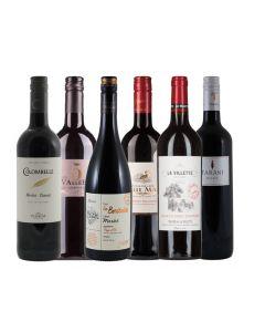 Wijnpakket Frankrijk Rood (6 flessen)