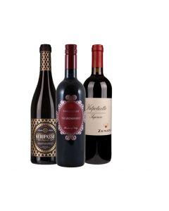 Wijnpakket Italie Rood (3 flessen)