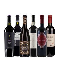 Wijnpakket Italie Rood (6 flessen)