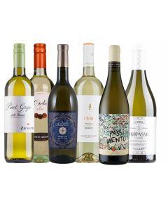 Wijnpakket Italie Wit (6 flessen)