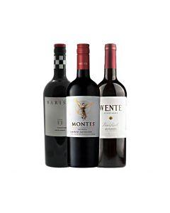 Wijnpakket Nieuwe Wereld Rood (3 flessen)