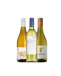 Wijnpakket Nieuwe Wereld Wit (3 flessen)