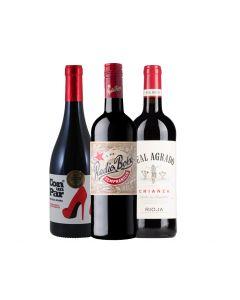 Wijnpakket Spanje Rood (3 flessen)