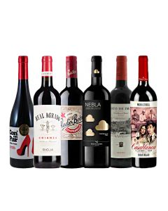 Wijnpakket Spanje Rood (6 flessen)